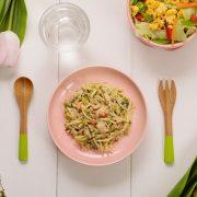 【春季限定】鮭と菜の花のカルボナーラ
