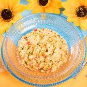 【季節限定ごはん】魚介と夏野菜のタブレ