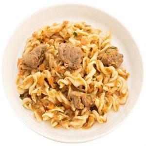 beef-ragout sauce pasta
