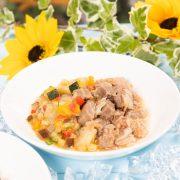 【季節限定ごはん】牛肉と夏野菜のBBQ